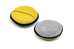 Wing Wash - Round Microfiber Mesh/Terry Cleaning Sponge - 2 Pack