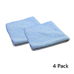 Wing Wash - All-Purpose Microfiber Towel (16 x 16) - Pack of 4