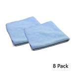 Wing Wash - All-Purpose Microfiber Towel (16 x 16) - Pack of 8